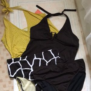 Other - Lands End Tankini 4 piece set size 14